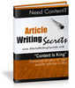 Thumbnail Article Writing Secrets