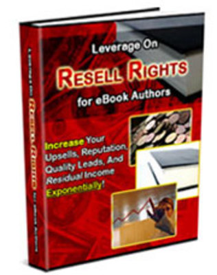 Product picture Leverage On Resell Rights