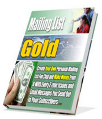 Product picture Mailing List Gold